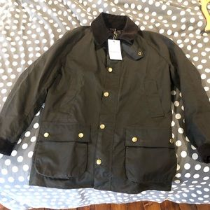 Barbour Ashby waxed jacket size small
